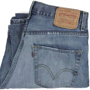 Levi's 569 Loose Straight Leg Denim Jeans Sz 30x32